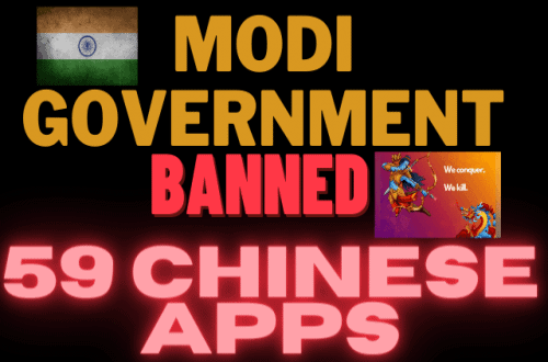 59 Chinese Apps Banned By Modi Government India, All Details