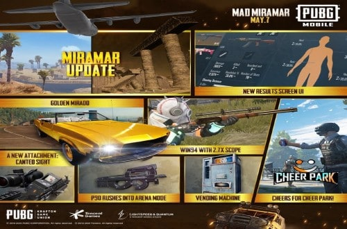 PUBG Mobile 0.18.0 New Update to Arrive on May 7: All Details